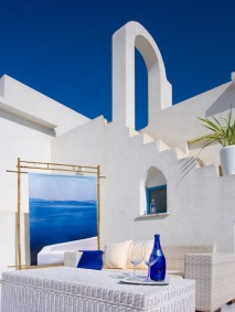 Greek Island Patio