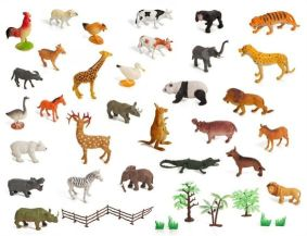 Zoo and farm animals