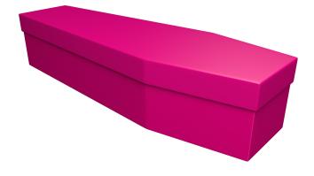 Pink coffin